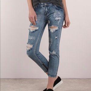 Tobi Harper Marina Denim Skinny Jeans BNWT